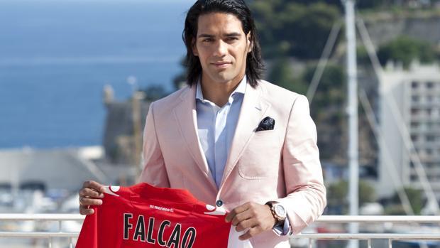 Presentación de Radamel Falcao como jugador del Mónaco