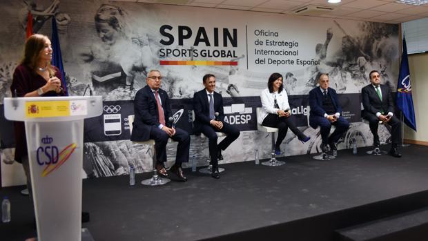 Una imagen de la presentación de Spain Sports Global