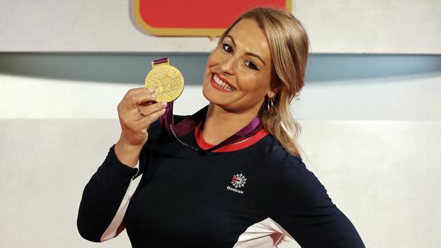 Lydia Valentín ya tiene su oro de Londres 2012
