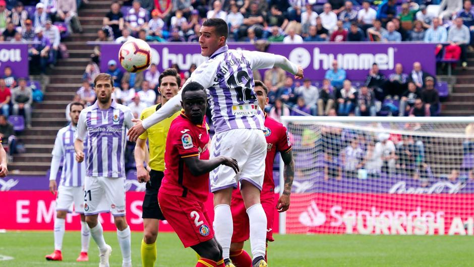 LaLiga Santander (J32): Resumen y goles del Real Valladolid 2-2 Getafe