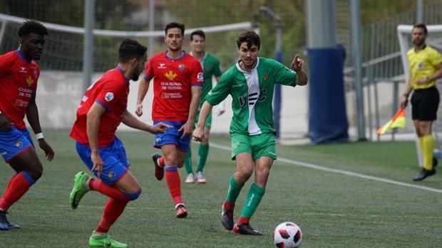 Partido jugado este domingo entre el Cornellé y el Teruel