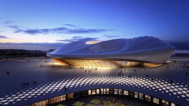 Vista general del estadio Al Wakrah,, sede del Mundial 2022
