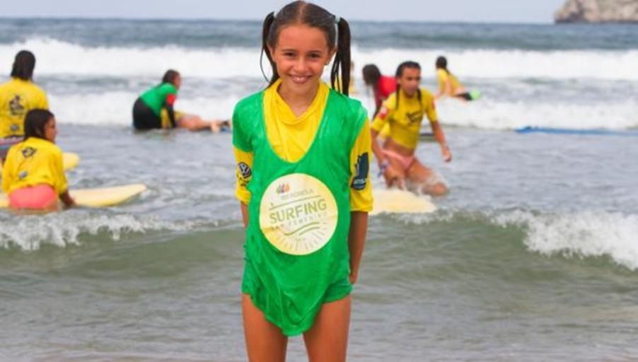 Regresa el Iberdrola Surfing Day, que se celebrará simultáneamente en diferentes playas españolas