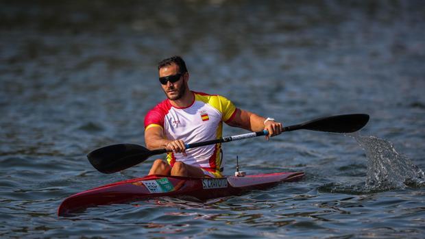 Craviotto, en una imagen de archivo en los Juegos de Río 2016