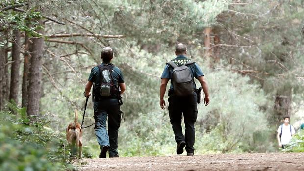 Personal de la Guardia Civil, en la búsqueda