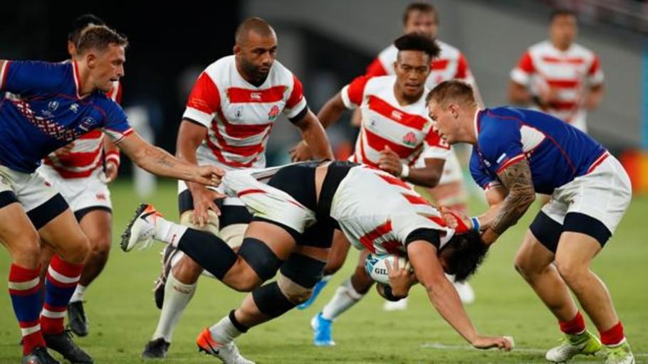 Japón se impone claramente ante Rusia en el debut del Mundial de Rugby