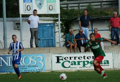 Derbi entre la SD Barreda y la Gimnástica Torrelavega jugado en 2017