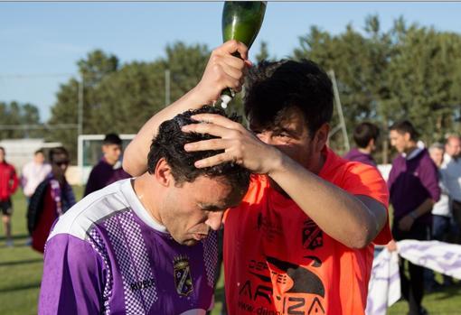 Melero, el pasado curso tars ascender con el Becerril a Tercera división