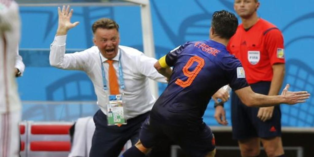 Van Persie desvela que Van Gaal le abofeteó en el Mundial de 2014