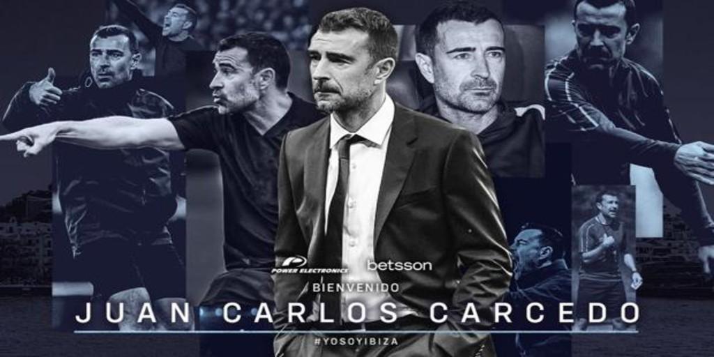 Juan Carlos Carcedo, nuevo entrenador de la UD Ibiza