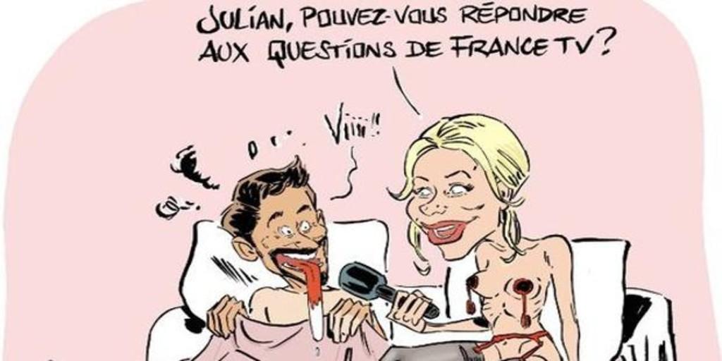 Tour De Francia Revuelo En Francia Por Una Polemica Vineta Sobre Alaphilippe Y La Comentarista Marion Rousse