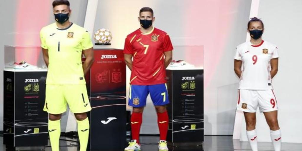 Roble Contemporáneo jefe  Así es el nuevo uniforme de la selección española de fútbol sala
