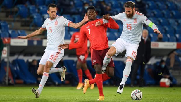 Suiza - España en directo