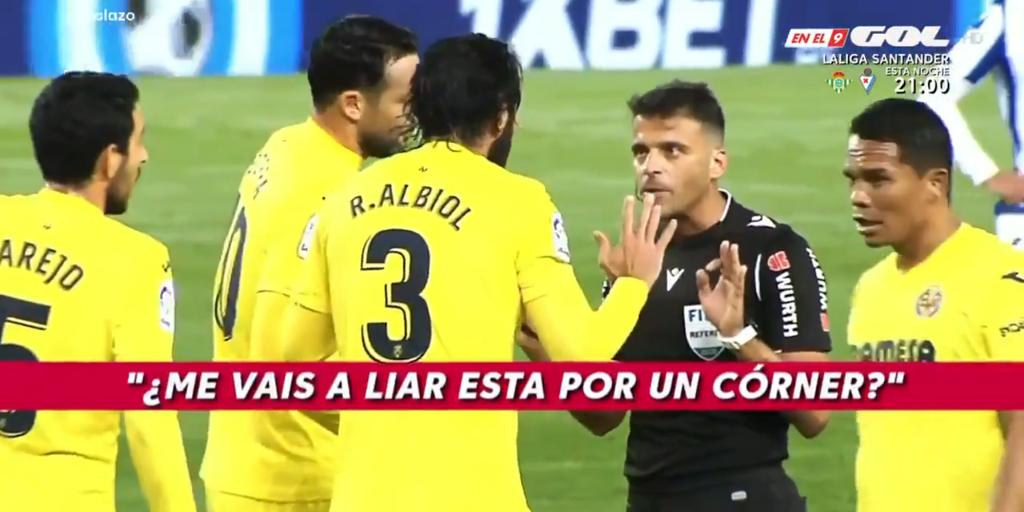 La secuencia de errores de Gil Manzano que enfadó al Villarreal