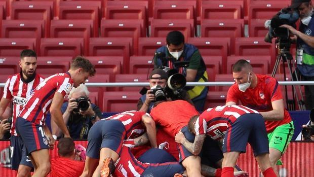 Así fue el gol de Luis Suárez que mantiene al Atlético líder de la Liga -  Venezuela