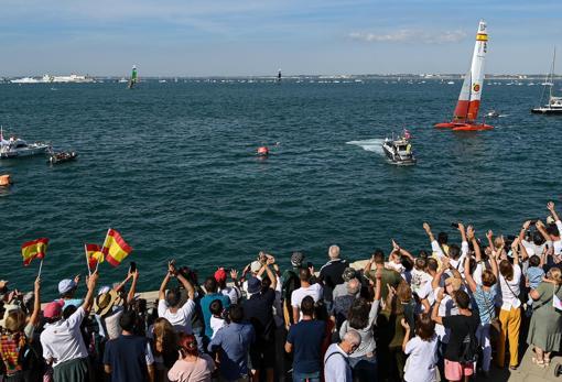 Cádiz embraced the Spanish team