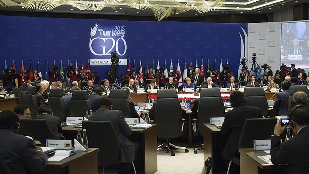 Reunión del G20 en Turquía