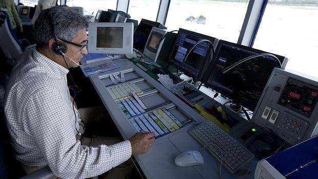 Torre de control del aeropuerto de Barajas