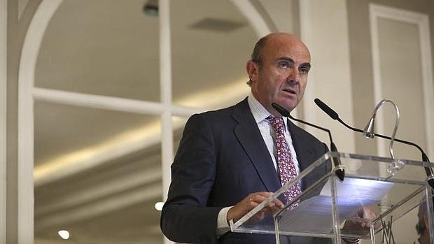 El minsitro de Economíía, Luis de Guindos