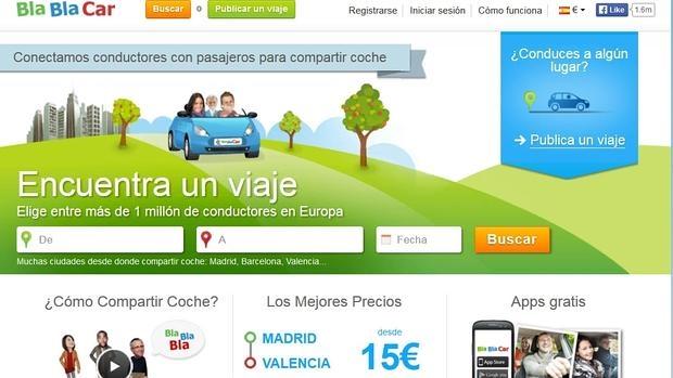 BlaBlaCar opera en más de veinte países