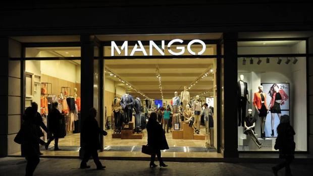 Tienda Mango en el paseo de Gracia