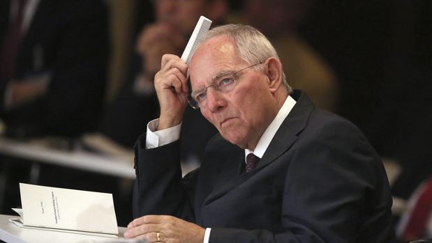 Wolfgang Schaüble, ministro alemán de Finanzas