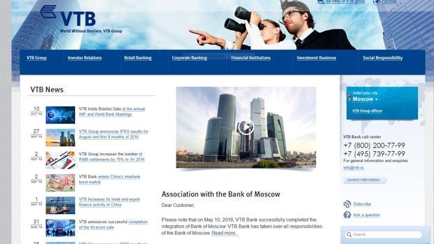 VTB baraja alternativas a Londres como sede de su centro de operaciones en Europa