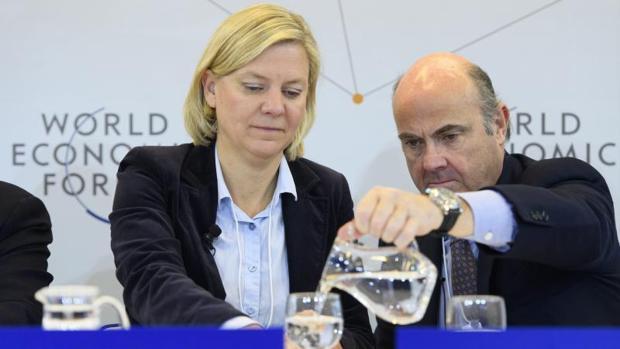 El ministro de Economía en el Foro de Davos