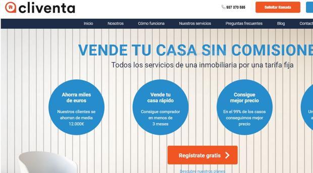 Página web de Cliventa