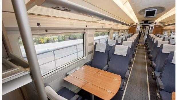 Resultado de imagen de interior de un tren