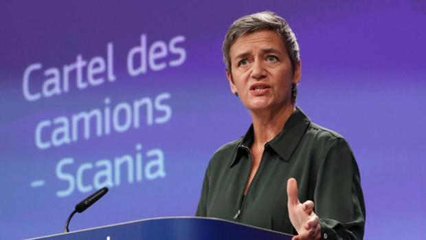 La comisaria de Competencia de la CE, Margrethe Vestager
