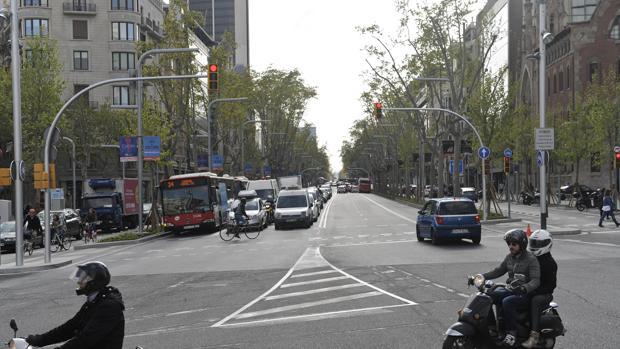 Avenida de Diagonal en Barcelona