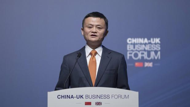Jack Ma, presidente de Alibaba Group Holding