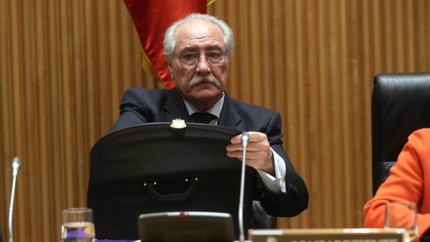 El expresidente de la Caja Castilla La Mancha, Pedro Hernández Moltó