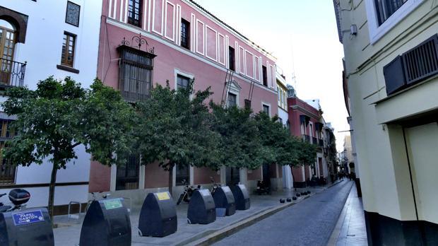 Casa palacio de los Condes de Ibarra, en Sevilla, que fue Fórum Filatélico hasta su intervención