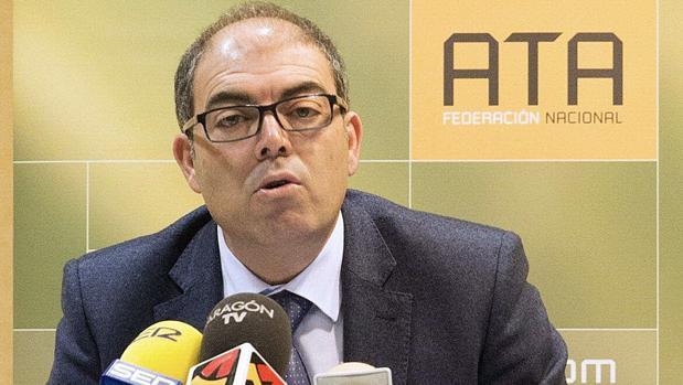 Lorenzo Amor, presidente de las Asociaciones de Trabajadores Autónomos (ATA)