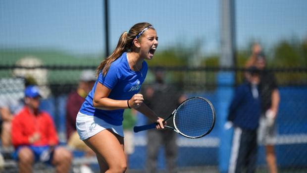 Laura Falceto, pbeca de tenis en Florida Golf Coast University