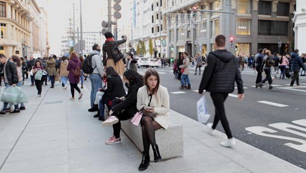 Compras en el centro de Madrid