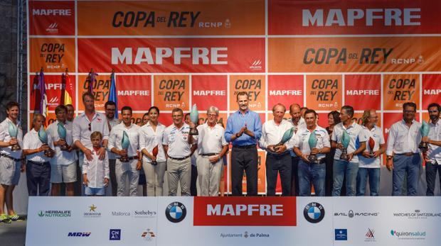 3fd98eaa6ed3 La Copa del Rey MAPFRE de vela de 2018 generó 17,5 millones de euros ...