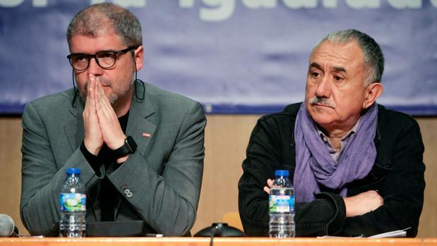 Unai Sordo y Pepe Álvarez, esta semana en Guadalajara