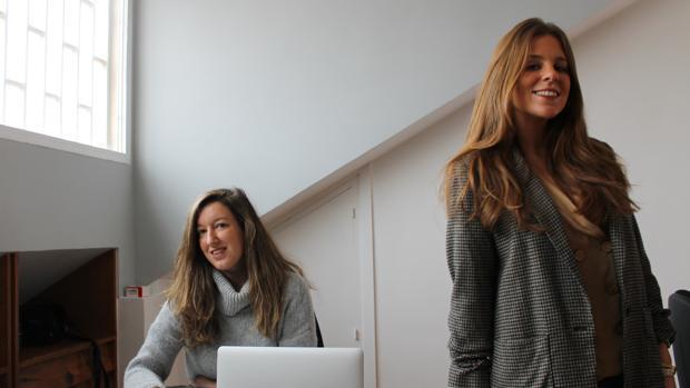 Patricia de Juan (izq.) y Rocío Lumbreras, cofundadoras de Drestip