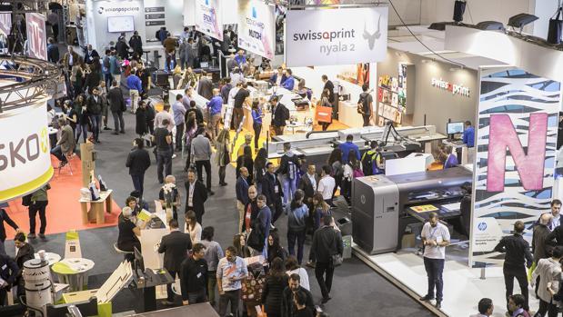 El salón mostrará las novedades en la industria gráfica, como las impresoras de gran formato