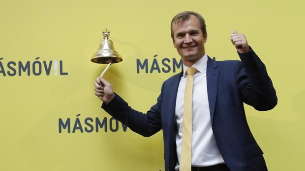 l consejero delegado de la operadora de telecomunicaciones MásMóvil, Meinrad Spenger