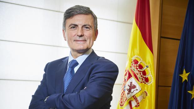 El portavoz económico del PSOE y secretario de Estado de Infraestructuras, Pedro Saura