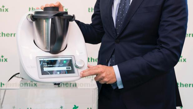 Presentación del último modelo de Thermomix el pasado marzo