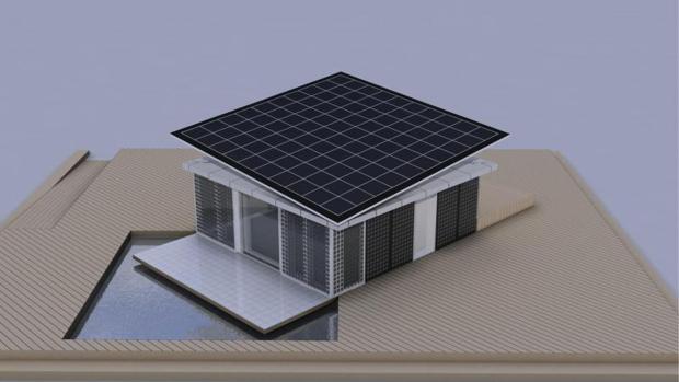 Prototipio de vivienda sostenible
