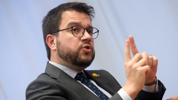 El vicepresidente y conseller de Economía de Cataluña, Pere Aragonès