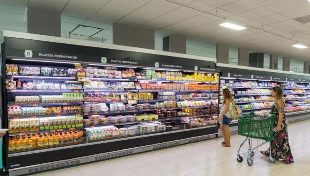 Lineal del supermercado