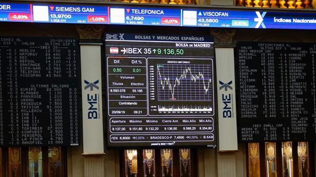 El Ibex 35 cierra este viernes en máximos, en su cuarta semana al alza