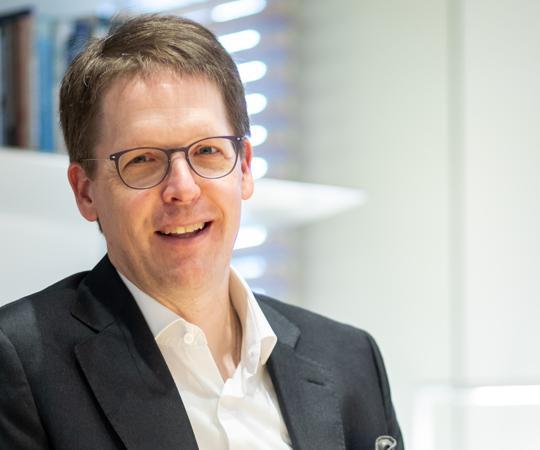 Franz Heukamp es director general del IESE desde septiembre de 2016